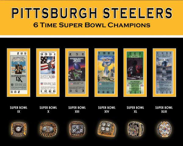 29. Pittsburgh Steelers size 11x14 photo