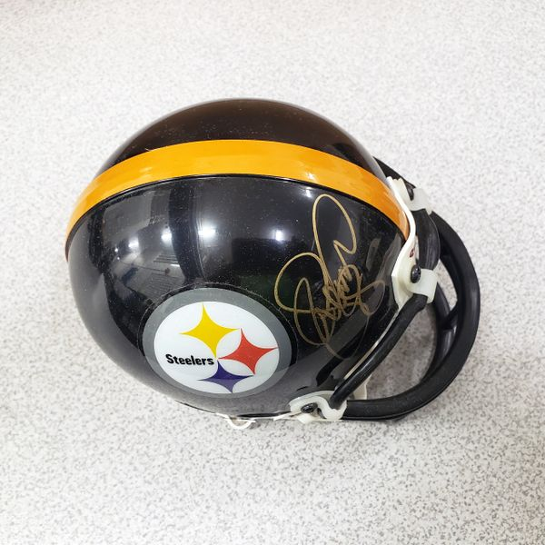 LC GREENWOOD - STEELERS - SIGNED MINI HELMET