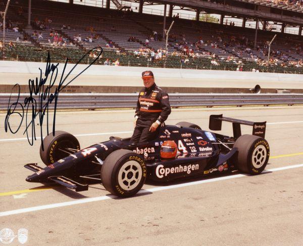 A. J. Foyt - Race Car Driver signed 8x10 photo