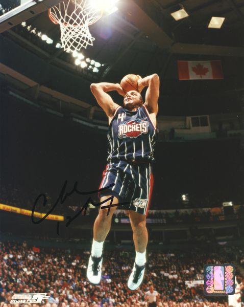 Charles Barkley - Houston Rockets signed 8x10 photo