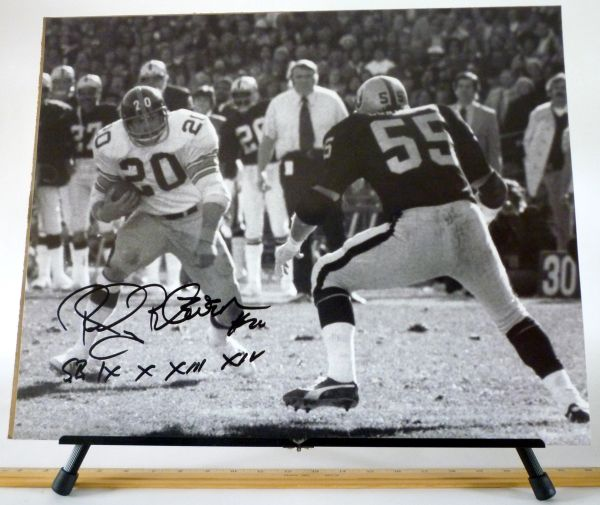 Rocky Bleier, Pittsburgh Steelers signed 16x20 photo