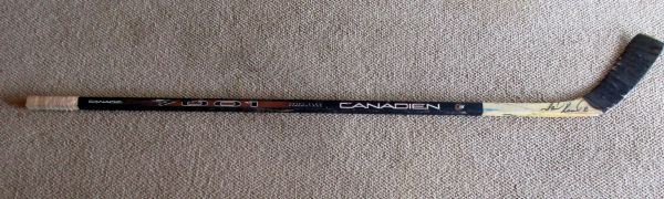 Mark Recchi - Pittsburgh Penguins - game used hockey stick - signed