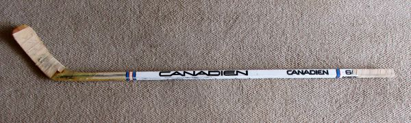 Marcel Dionne - LA Kings, NY Rangers - game used hockey stick - signed