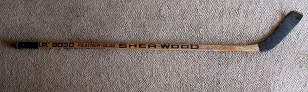 Mark Messier - Edmonton Oilers - game used hockey stick - signed