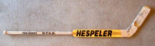 Kirk McLean - Vancouver Canucks - game used goalie stick - signed