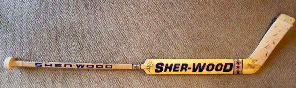 Stephane Fiset - Quebec Nordiques - game used goalie stick - signed