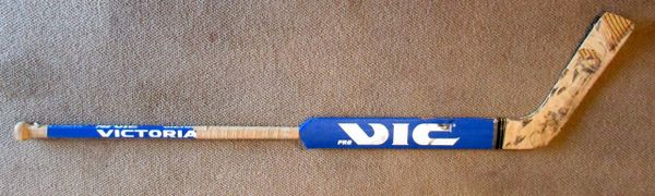 Mark Fitzpatrick - New York Islanders - game used goalie stick