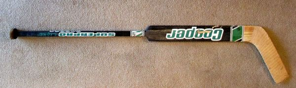 Darcy Wakaluk - Minnesota North Stars - game used goalie stick