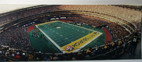 Three Rivers Stadium - Steelers - 8x20 photo