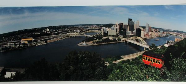 City of Pittsburgh - Duquesne Incline - Heinz Field - 8x20 photo