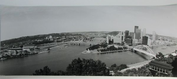 City of Pittsburgh - Duquesne Incline - Heinz Field - 8x20 photo (2)