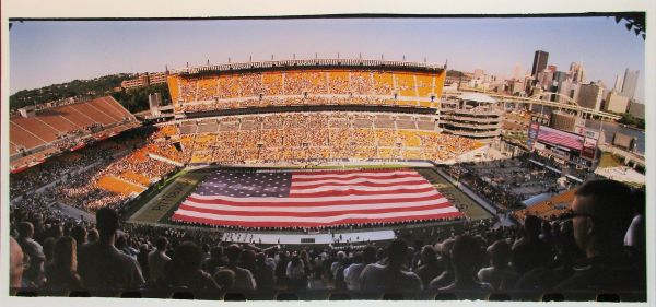 Heinz Field - Pitt Panthers football - 8x20 photo