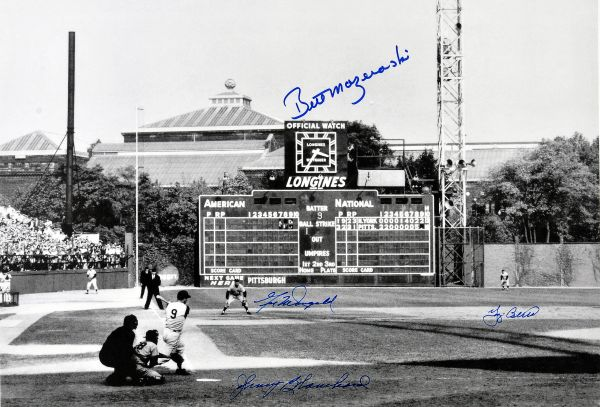 16. Bill Mazeroski 1960 W.S. HR 11x14 photo