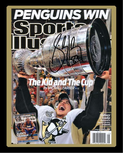 41. Sidney Crosby size 11x14 photo