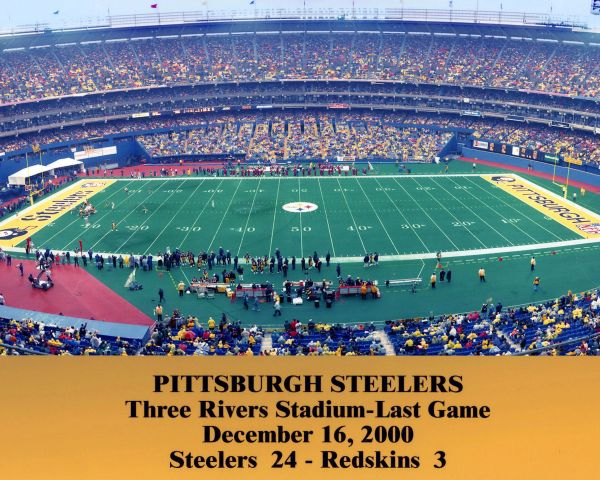 53. Three Rivers Stadium Last Game 11x14 photo
