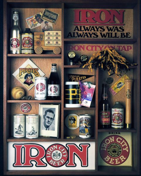66. Iron City Beer - Pirates 11x14 photo