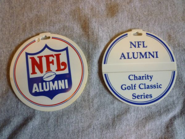 NFL Alumni golf tag