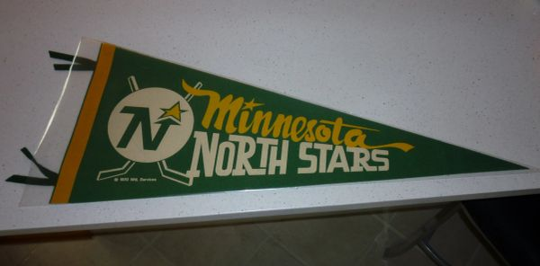 1970 Minnesota North Stars full-size pennant
