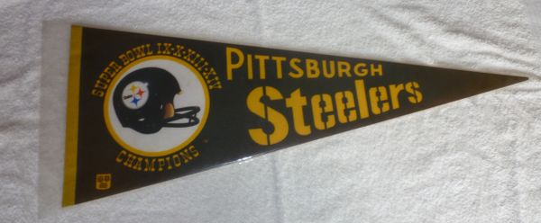 1980 Pittsburgh Steelers Super Bowl Pennant