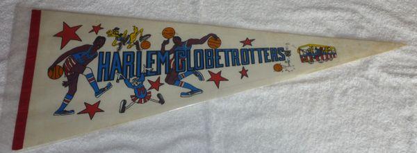 Harlem Globetrotters full-size pennant