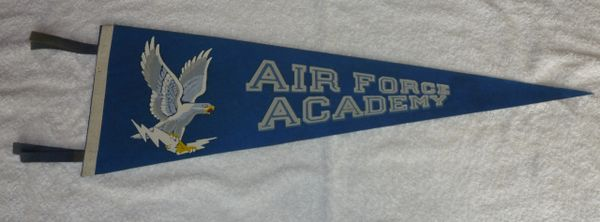 "Air Force Academy 27"" pennant"