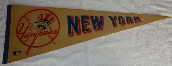 Vintage New York Yankees full-size pennant