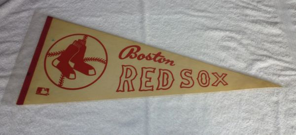 1960's Boston Red Sox full-size pennant
