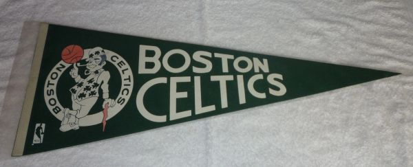 1970's Boston Celtics full-size pennant