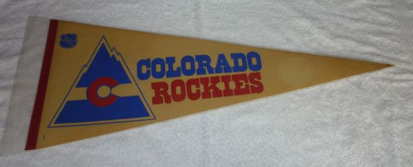 1970's Colorado Rockies full-size pennant