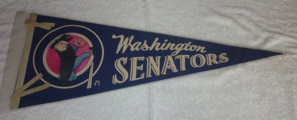 1960's Washington Senators full-size pennant