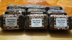 Pure African Black Soap 6oz
