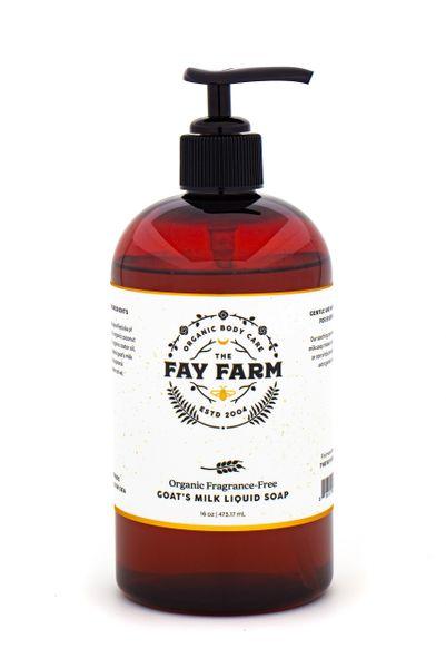 Fragrance Free Goat's Milk Liquid Soap