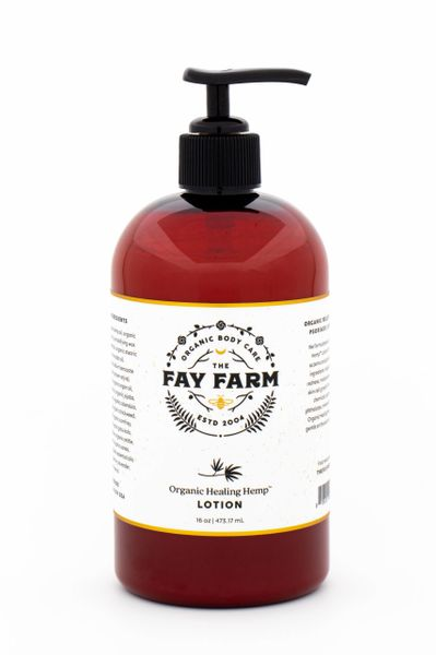 Healing Hemp ™ Lotion, 8 Oz.