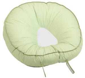 Leachco Podster Sling-Style Infant Seat Lounger Sage Pin Dot