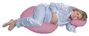 Leachco Snoogle Original Total Body Pillow Mauve