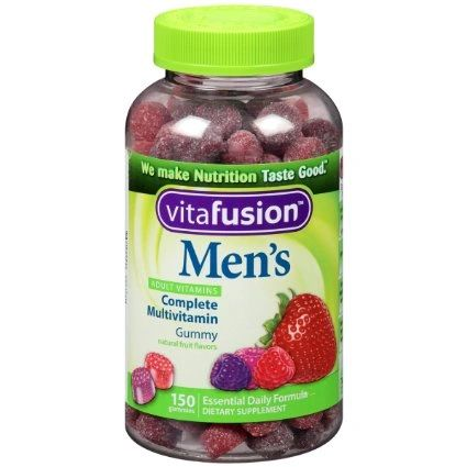 Vitafusion Men's Gummy Vitamins 150 Count