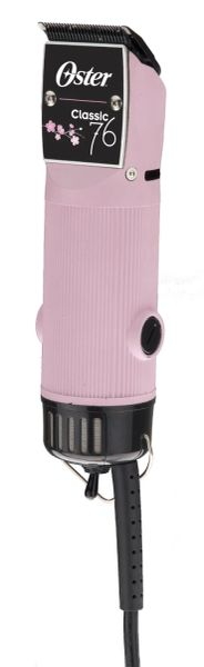 Oster Professional Classic 76 Detachable Blade Clipper- Pink