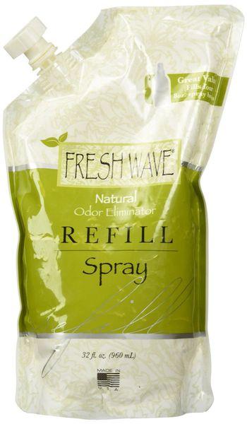 Fresh Wave 089 Spray Refill Unscented Bottle, 32 Oz singles