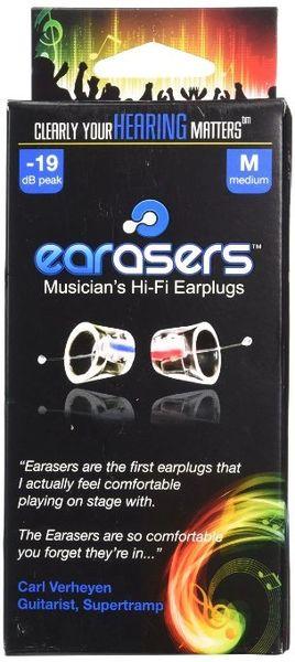 Earasers Musicians Plugs- Medium