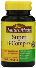 Nature Made Super B Complex Tablets 140 Count
