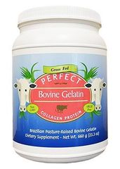 Perfect Bovine Gelatin - Collagen Protein Sourced Exclusively From Brazilian Pasture Raised Grass Fed Cows (23.3 OZ)
