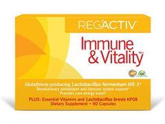 Reg'Activ Immune & Vitality Capsules, 60 Count
