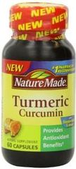 Nature Made Tumeric Capsules 500 Mg 60 Count