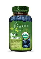 Irwin Naturals Organic Brain Support Diet Supplement 60 Count