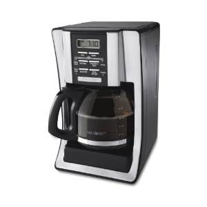 Mr. Coffee 12-Cup Programmable Coffeemaker Chrome