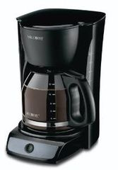 Mr. Coffee Cup Switch Coffeemaker Black