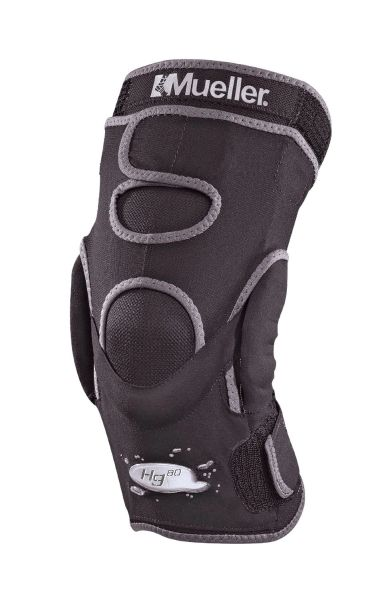 Mueller Hg80 Hinged Knee Brace Black Medium