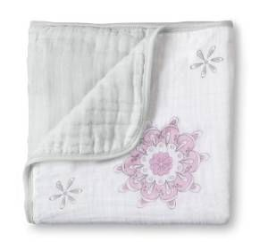 Aden + Anais Medallions Muslin Dream Blanket For The Birds