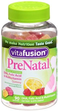 Vitafusion Prenatal, Gummy Vitamins 90-Count