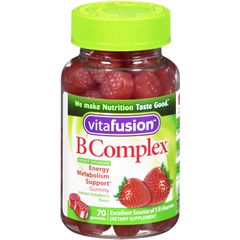 Vitafusion B Complex Gummy Vitamins 70 gummies Bottle-3